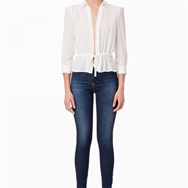 5b20d34790 Elisabetta Franchi Jeans lunghi aderenti | GM8489 Boutique