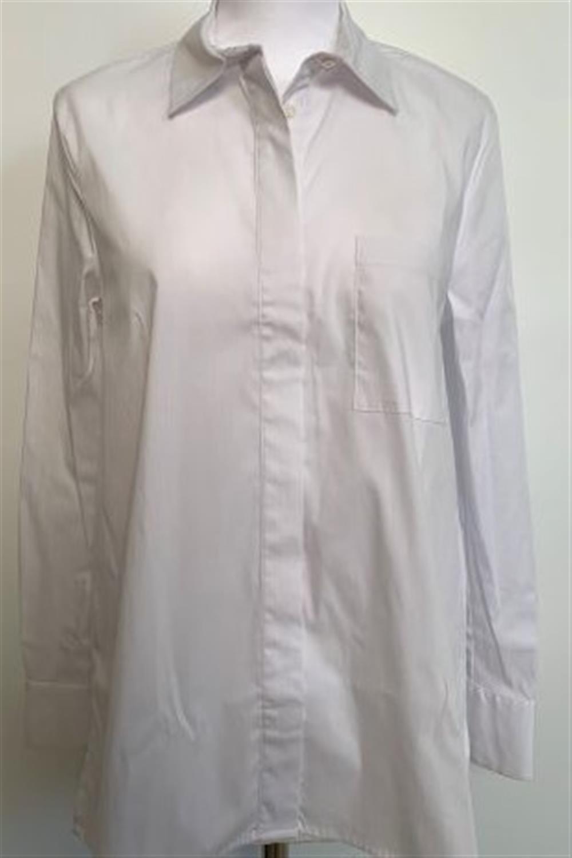 Happy25, camicia in cotone con taschini