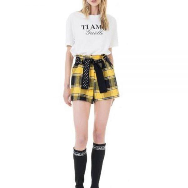 Gaëlle, shorts in tartan
