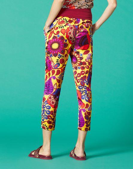 Manila Grace, pantalone stampato